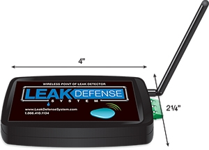 Water Leak Detection & Defense for Homes: System Installation | Hutchens Company - point-of-leak-detector