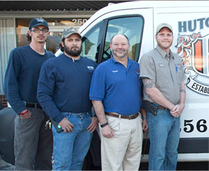 Commercial & Residential HVAC: Huntsville, AL | Hutchens Company - team